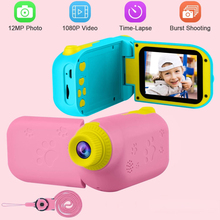 Toy Camera Photo Kids Children Gift for Girl Mini USB Rechargeable