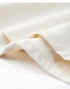 Image 5 - Kuegou 2019 Herfst 100% Katoen Dikke Witte Shirt Mannen Jurk Button Casual Slim Fit Lange Mouwen Voor Man Fashion Brand blouse 0224