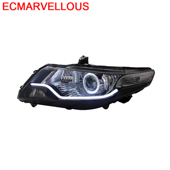 Drl Daytime Running Led Parts Exterior Accessory Side Turn Signal Headlights Front Fog Car Lights Assembly 17 18 FOR Honda City