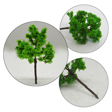 Teraysun 100pcs scale model iron tree wire Model for layout Scale 60/30