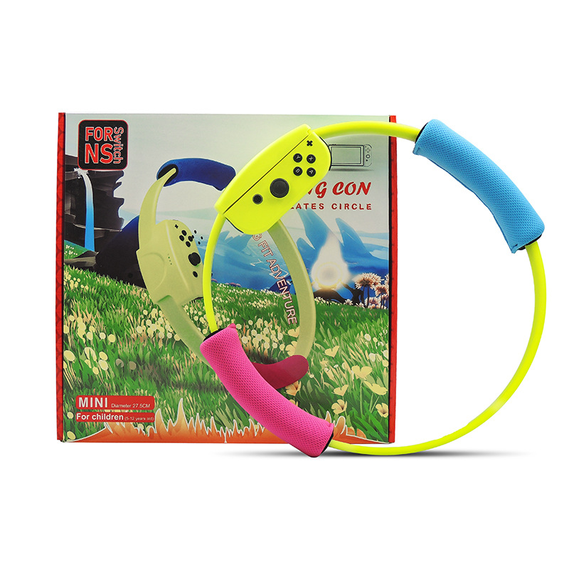 2019 New Adjustable Elastic Leg Strap 40cm Ring-Con For Children Grips Leg For Nintend Switch Joy-con Ring Fit Adventure Game