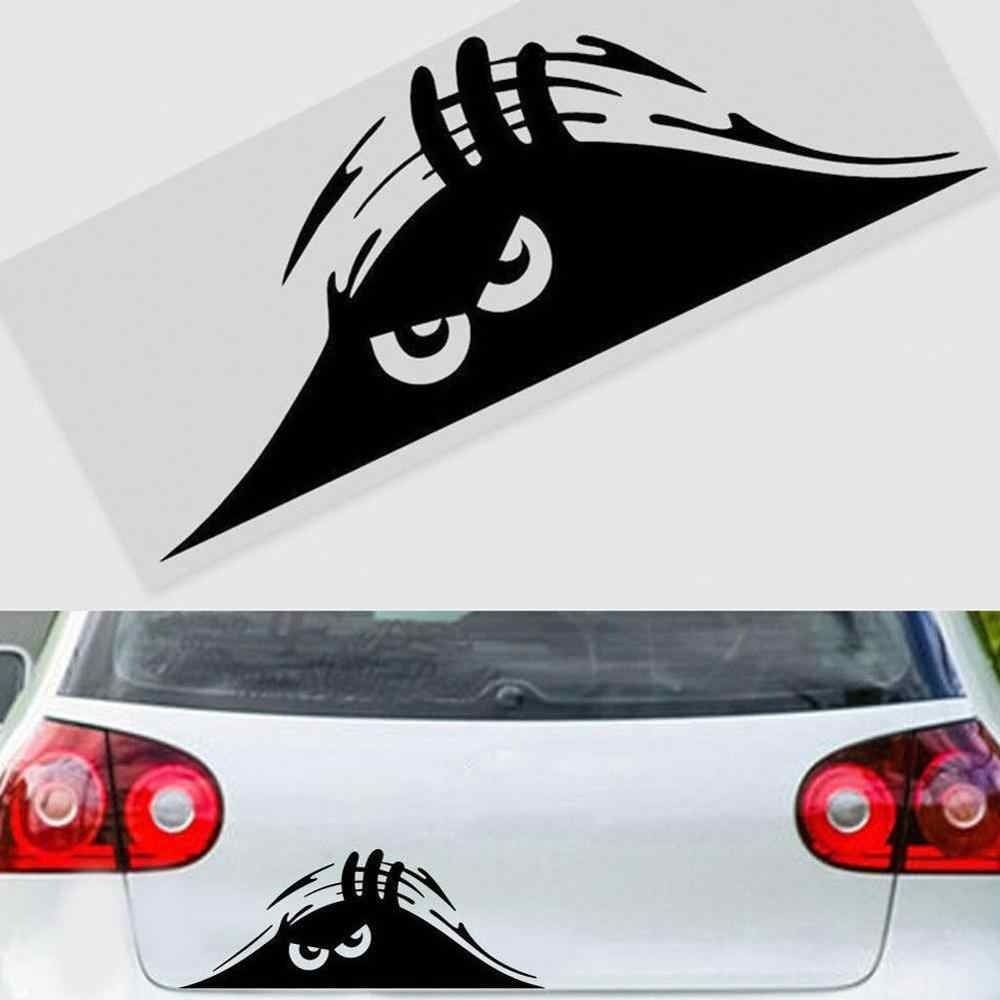 2 Stuk Gluren Auto Sticker Vinyl Decal Versieren Sticker Waterdicht Mode Auto Styling Accessoires
