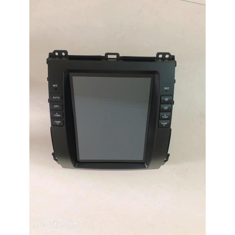 CHOGATH 10,4 ''android 7,1 Vertikale Bildschirm 2 + 32G Auto Radio GPS Multimedia Stereo für Toyota Prado 120 2002-2009