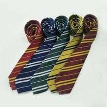 Галстук для детей и взрослых гриффиндо/Слизерин Поттер галстук в стиле колледжа Косплей Костюм Гаррис галстук шарф и перчатки товары вечер...
