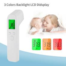2020 Non-Contact Infrared Thermometer Digital Forehead Body Electronic Gun Baby Adult Ear Fever Temperature