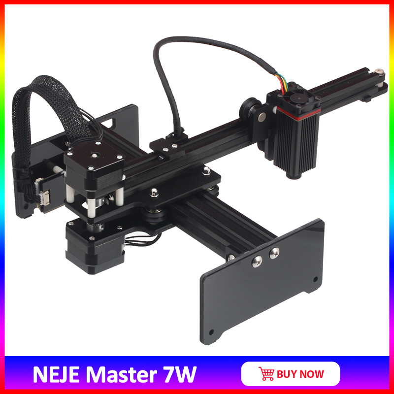 NEJE Master 7W High Speed Mini CNC Laser Engraver For Metal  Engraving Carving Machine Laser Cutting Engraving Machine  Laser 7w