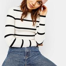 Harajuku Sweater Pullover Women Autumn Winter Knitwear Long Sleeve Ribbed Slim Tops Streetwear Turtleneck Vintage Jumpers Sweter ribbed furcal knitwear