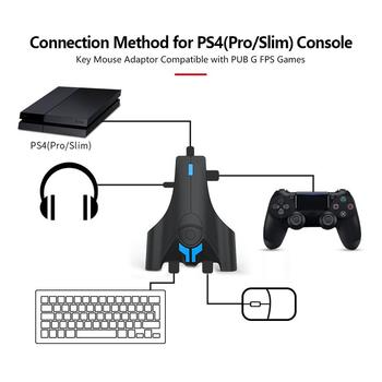 Keyboard And Mouse Adapter Converter With 3 5mm Headphone Jack For Nintendo Switch Ps4 Xbox One Ps3 Console Buy At The Price Of 15 37 In Aliexpress Com Imall Com