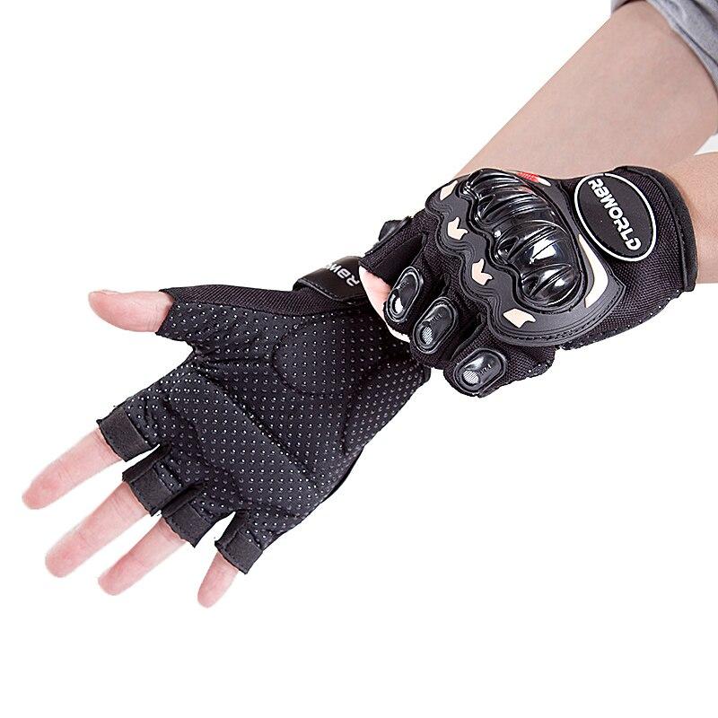 Motorrad Handschuhe Männer Motocross Handschuhe halb Finger Reiten Motorrad Moto Handschuhe Motocross Guantes Handschuhe Skidproof Harte Knuckle