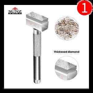 Image 5 - 1pc Diamante di Rettifica Ruota Comò Ispessimento rettifica strato di Metallo Smerigliatrice Macinazione di Pietra Strumento di Preparazione