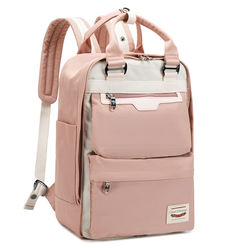 Both Shoulders Backpacks Women Laptop Backpack Girls High Junior School Bags Boys New Style Schoolbag With Switchable Surface