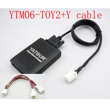 Adapter Yatour Y-Cable Car-Stereo Bluetooth Toyota Lexus MP3 Avensis-Corolla for