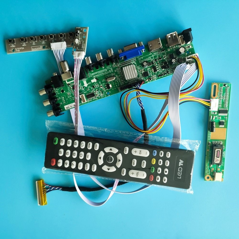 Kit for N150X3-L08 Rev.<font><b>C2</b></font> 1024X768 AV HDMI VGA Screen monitor LCD Panel <font><b>DVB</b></font>-T2 1 CCFL 30pin TV Controller board Digital USB 15