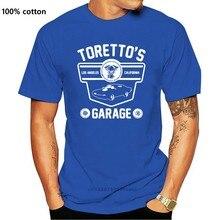 Camiseta para homem da garagem do torento rápido e furioso-orett angeles