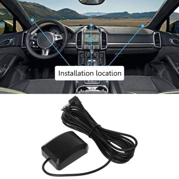 1 Pc Vehicle Car DVR Recorder GPS Navigation Accessories External Antenna Module 3.5mm Plug image