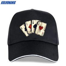 Kolvonanig летняя Модная брендовая бейсболка для покера с интересным