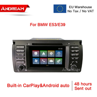 IPS screen Car Multimedia Navigation With CarPlay & Android Auto For BMW 5 Series E39 M5 E39 X5 E53
