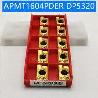 100PCS APMT1604 DP5320 Carbide Insert Turning Tool Turning
