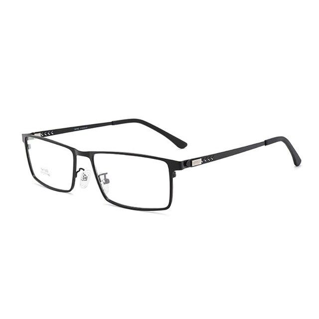 очки в оправе из сплава мужские очки с полным ободком деловом фотография