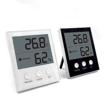 Smart Indoor Outdoor Digital Alarm Clock Thermometer Hygrometer