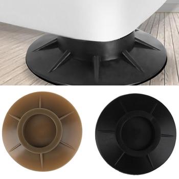 4Pcs Pulsator washing machine round base Kitchen home refrigerator air conditioning non-slip mat Anti Vibration Rubber Feet Pads - discount item  43% OFF Furniture Accessories