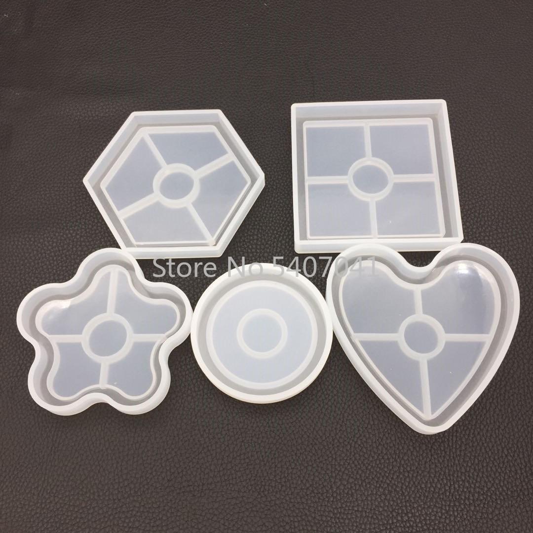 1 шт. цветочный горшок база чайная подставка DIY силиконовая высушенная форма цветок ювелирные изделия аксессуары инструменты оборудование