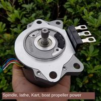 12V 500W High Power Brushless Motor Motor, Spindle, Thruster, Lathe Karting Power Geared Motor Dc Geared Motor 12v