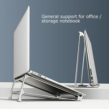 Aluminum Alloy Laptop Stand Folding Notebook Stand For Macbook Air Pro Lapdesk Non-slip Computer Cooling Bracket