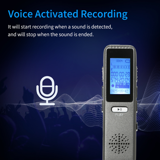 8GB  Voice Activated Recorder  2
