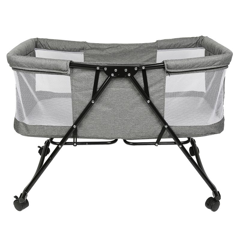 Baby Travel Portable Mobile Crib Baby Cribs Newborn Multi-function Bed Child Foldable Bed With Mosquito Net Baby Furniture HWC