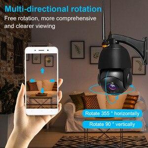 Image 4 - Cámara de seguridad inalámbrica con Wifi para exteriores, dispositivo de vigilancia ONVIF con Zoom óptico de 1080 MP, 3MP, HD 30X, IP para el hogar, visión nocturna IR de 80M