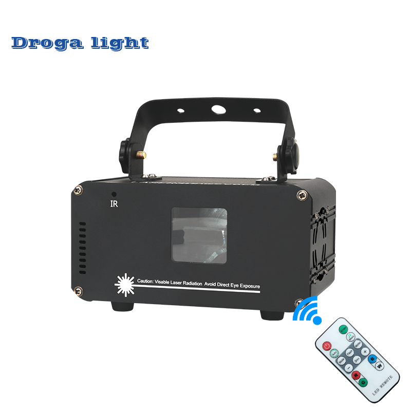 Remote RGB 400mw DMX512 Laser Line Scanner Stage Lighting Effect Projector Light DJ Dance Bar Xmas Party Disco Show Lights