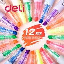 Deli 12 видов цветов/набор прозрачных художественных маркеров