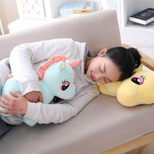 Creative New Style down Cotton Unicorn Doll Plush Toys Large Size Cute Pillow Doll Birthday Gift(China)