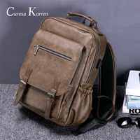 Hot new sales men's retro fashion multi function large capacity backpack travel business backpack trend bag computer bags