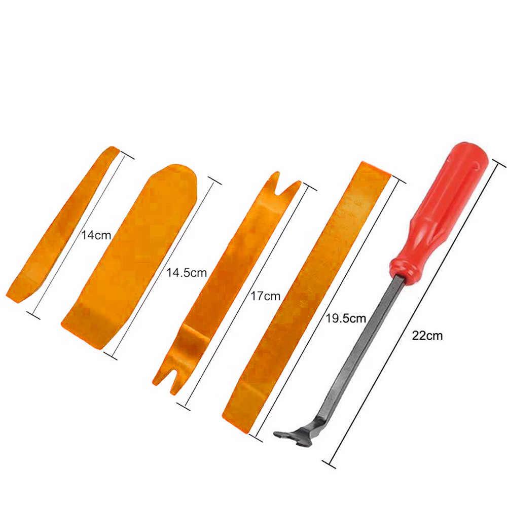 415pcs Auto di Plastica Del Corpo Del Veicolo Push Spille Rivetto di Fissaggio Trim Pinze auto di Riparazione Assortimento Kit Porta Automobile Pannello di Fissaggio