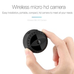 Wireless wifi mini IP camera A10 HD 1080P IR night vision mini DV camera Home security surveillance camcorder