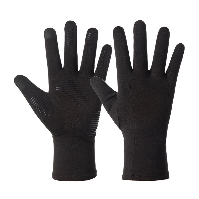 Men Women Outdoor Sports Fitness Non-slip Cycling Gloves Warm Touch Screen Non-slip Ski Gloves J18