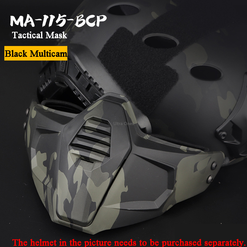 Tactical Mask Camouflage Military Hunting Shooting Accessories Paintball Masks Outdoor Airsoft Tactical Army Wargame Combat Mask