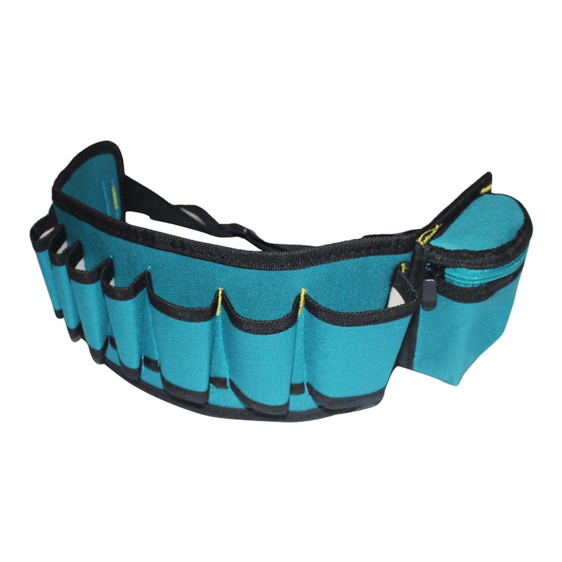 Multi-pockets Tool Bag Waist Pockets Electrician Tool Bag Oganizer Carrying Pouch Tools Bag Belt Waist Pocket Case