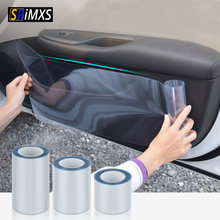 Coche película protectora Anti-arañazos coche la protección de la piel de la película impermeable etiqueta engomada del coche de Stratchproof coche pegatina de piel de rinoceronte