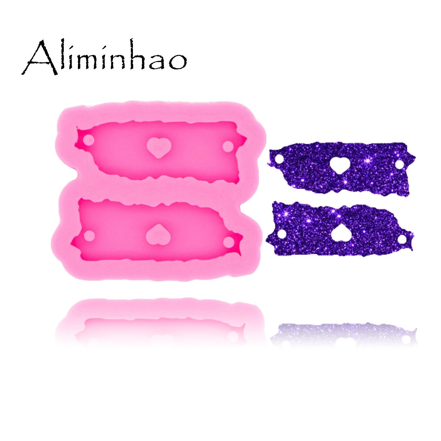 DY0452 Shiny Puerto Rico Map Handmade DIY Epoxy Silicone Molds Fashion Jewelry Resin Craft Mould Making Bracelet