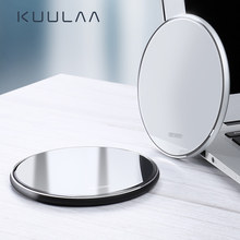 KUULAA Qi Wireless Charger For iPhone X XS Max XR 8 Plus 10W Fast Wireless Charging Pad For Samsung S9 S10 Note 9 8 Xiaomi(China)