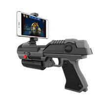 AR Gun Toy Game Pistol 3D Smart Support Bluetooth Mobile Phone Game Electric Gun Shooting Game AR Gun Children Toys(China)