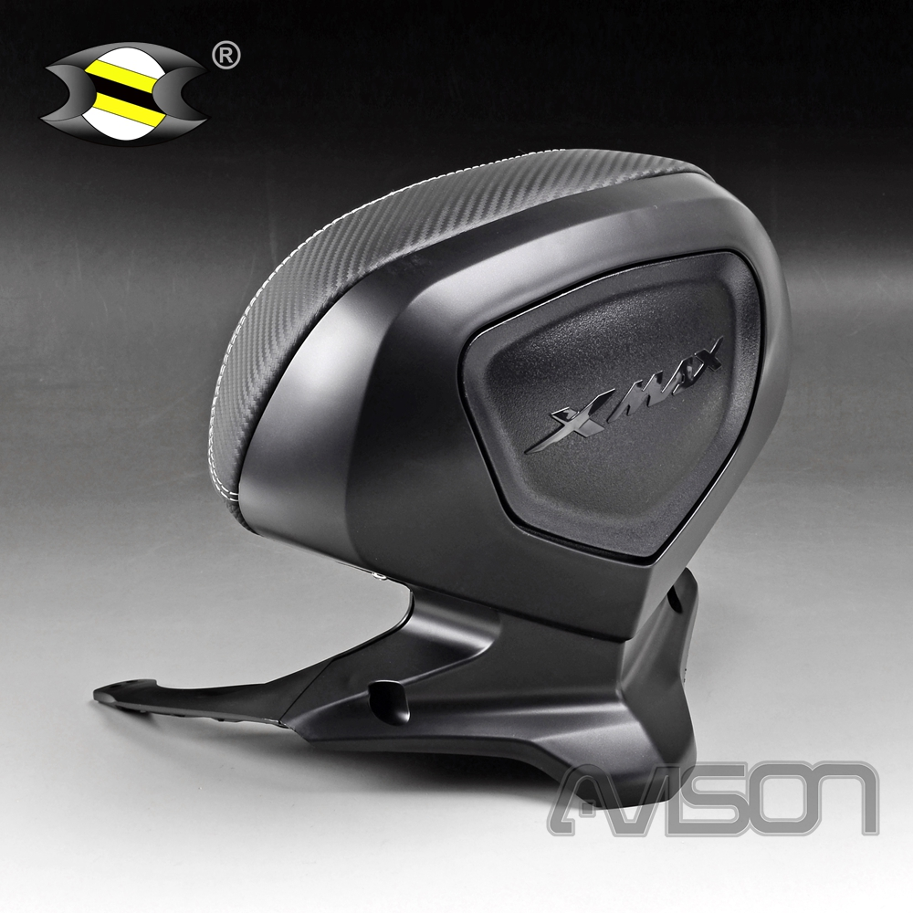 Fit for <font><b>YAMAHA</b></font> XMAX300 XMAX400 2017 2018 2019 <font><b>XMAX</b></font> 250 300 <font><b>400</b></font> 18-19 Rear Seat Backrest Tail Top Box Case Cover Cushion Pad image