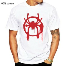 Into The Spider - Verse Black Tees T Shirt Clothing Top Tees Custom Any Logo Size