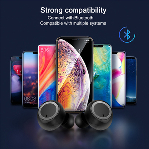 Image 3 - A2 TWS Bluetooth 5.0 Earbuds Stereo Wireless Headphones Sport Earphone Handsfree Headset With Mic For Xiaomi Iphone Phone