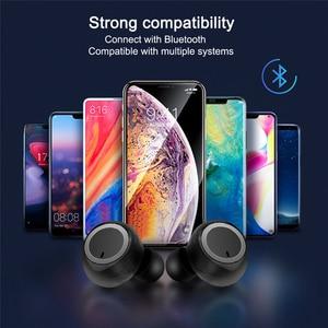 Image 3 - Tws Wireless Bluetooth Earphone Sport Running Fitness Handsfree Car Earphones With Mic Mini Wireless Headset For Xiaomi