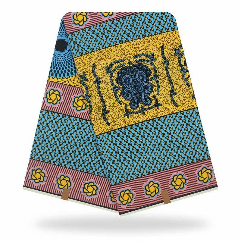 Ankara Print High Quality Tissus Wax 2020 Real Dutch Wax African Original Veritable Wax Hot Sale Design For Women