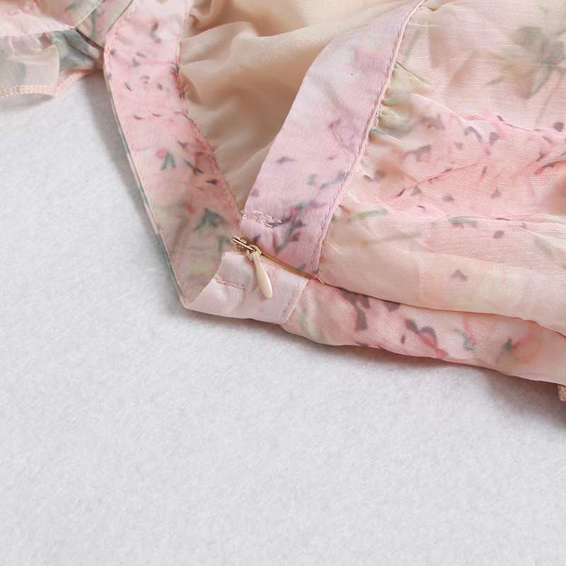 USD أنيقة الوردي الأزهار 17